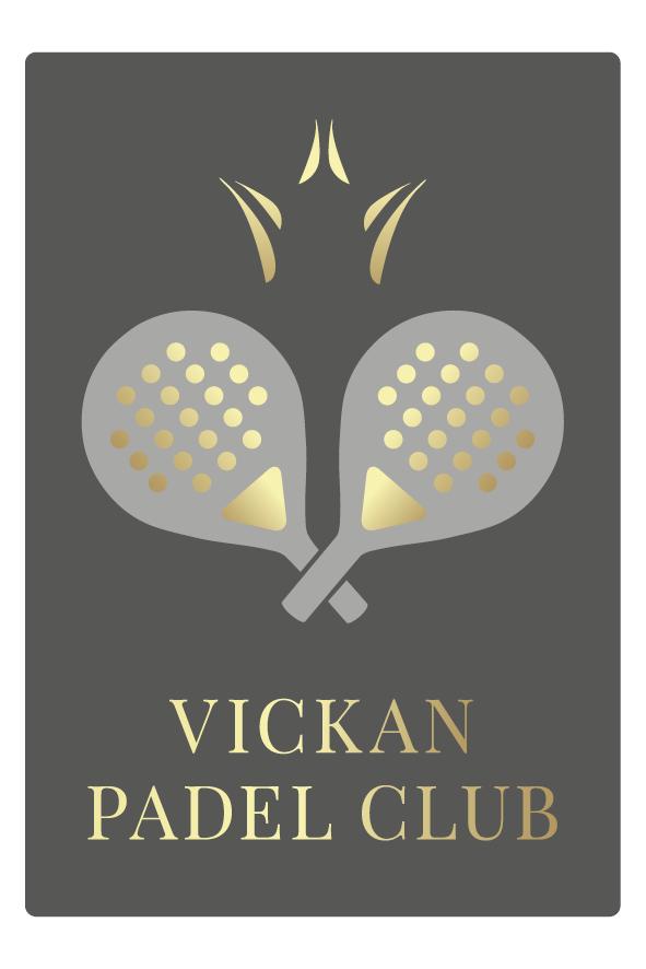 Vickan Padel Club logga